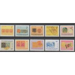 Polynésie - 1993 - No S16/S25 - Timbres sur timbres