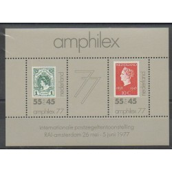 Netherlands - 1977 - Nb BF16 - Stamps on stamps - Exhibition