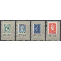 Pays-Bas - 1977 - No 1072/1075 - Timbres sur timbres