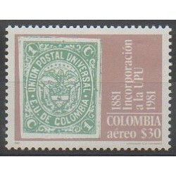 Colombie - 1981 - No PA685 - Timbres sur timbres