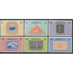Anguilla - 1979 - Nb 316/321 - Stamps on stamps