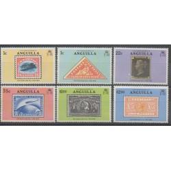 Anguilla - 1979 - No 316/321 - Timbres sur timbres