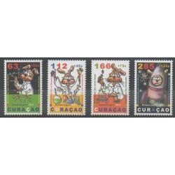 Curaçao - 2011 - No 233/236 - Sciences et Techniques