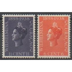 Curaçao - 1938 - No 134/135