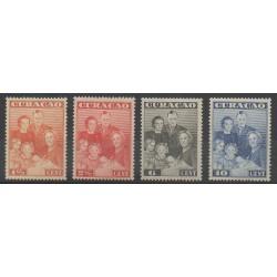 Curaçao - 1943 - No 155/158 - Royauté - Principauté