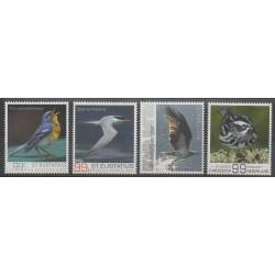 Caribbean Netherlands - Statia - 2017 - Nb 32/35 - Birds
