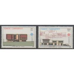 Turquie - 1987 - No 2533/2534 - Monuments - Europa