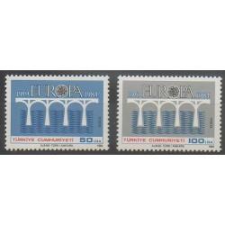 Turquie - 1984 - No 2425/2426 - Europa