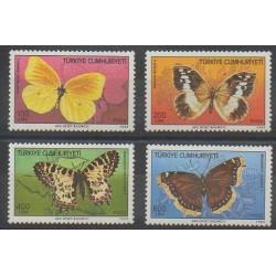 Turquie - 1988 - No 2582/2585 - Insectes