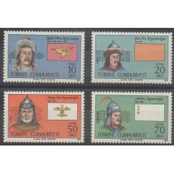 Turquie - 1984 - No 2431/2434 - Histoire militaire