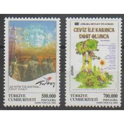 Turquie - 2003 - No 3062/3063 - Art - Europa