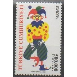 Turquie - 2002 - No 3030 - Cirque - Europa