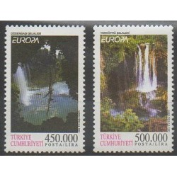 Turquie - 2001 - No 2989/2990 - Sites - Europa