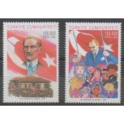 Turquie - 1998 - No 2880/2881 - Europa