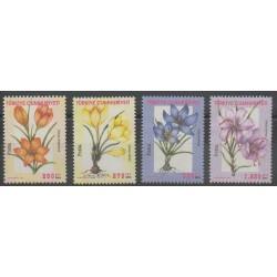 Turquie - 2000 - No 2973/2976 - Fleurs