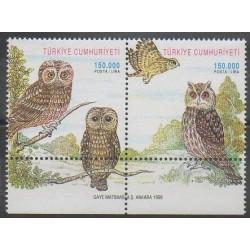 Turquie - 1998 - No 2882/2883 - Oiseaux - Environnement