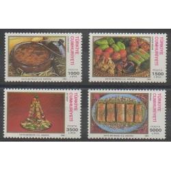 Turquie - 1994 - No 2761/2764 - Gastronomie