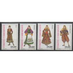 Turquie - 2003 - No 3073/3076 - Costumes
