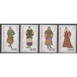 Turquie - 2002 - No 3026/3029 - Costumes