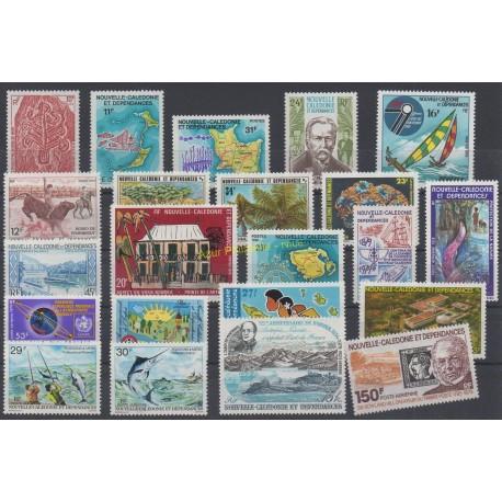 Nouvelle-Calédonie - Année complète - 1979 - No 425/435 et PA190/PA200
