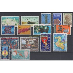 New Caledonia - Complete year - 1978 - Nb 416/424 et PA184/189