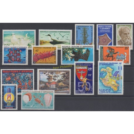 Nouvelle-Calédonie - Année complète - 1978 - No 416/424 et PA184/189
