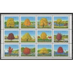 Canada - 1994 - No 1367/1378 - Arbres