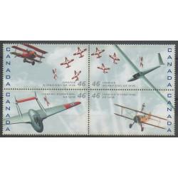 Canada - 1999 - No 1689/1692 - Aviation