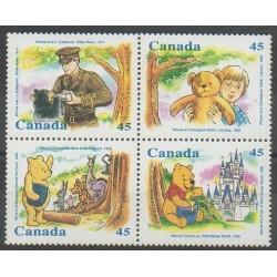 Canada - 1996 - No 1496/1499 - Walt Disney