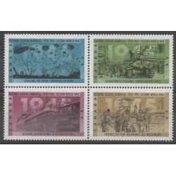 Canada - 1995 - No 1398/1401 - Seconde Guerre Mondiale