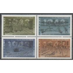 Canada - 1993 - No 1346/1349 - Seconde Guerre Mondiale