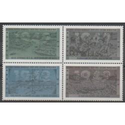 Canada - 1992 - No 1285/1288 - Seconde Guerre Mondiale