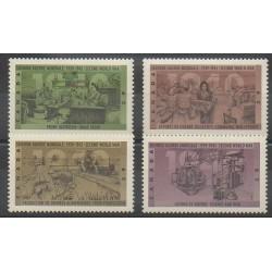 Canada - 1990 - No 1164/1167 - Seconde Guerre Mondiale