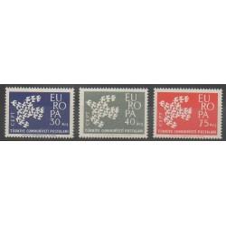 Turquie - 1961 - No 1599/1601 - Europa