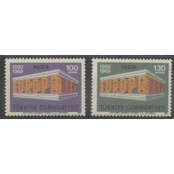 Turquie - 1969 - No 1891/1892 - Europa