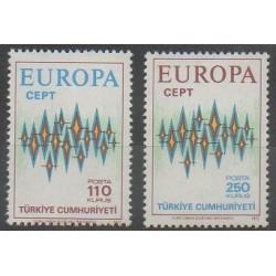 Turquie - 1972 - No 2024/2025 - Europa