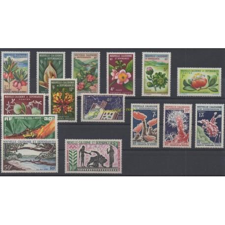 Nouvelle-Calédonie - Année complète - 1964 - No 314/325 et PA74/PA76