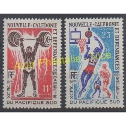New Caledonia - 1971 - Nb 375/376