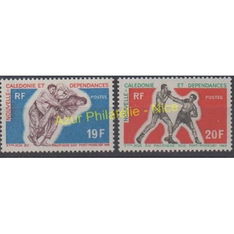 Nouvelle-Calédonie - 1969 - No 361/362 - Sports