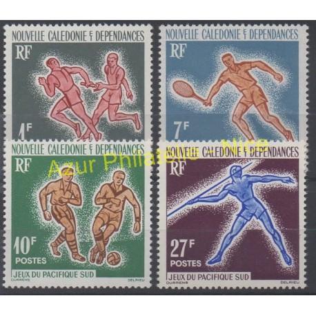 Nouvelle-Calédonie - 1963 - No 308/311 - Sports