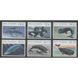 Terre de Ross - 1988 - No 21/26 - Animaux marins - Mammifères