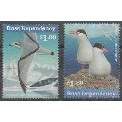 Terre de Ross - 1997 - No 52 - 55 - Oiseaux