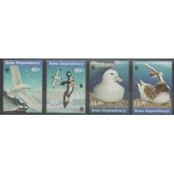 Terre de Ross - 1997 - No 56/59 - Oiseaux - Espèces menacées - WWF