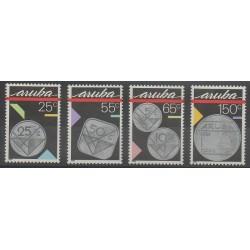 Aruba - 1988 - No 40/43 - Monnaies, billets ou médailles