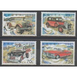 Aruba (Netherlands Antilles) - 2001 - Nb 273/276 - Cars