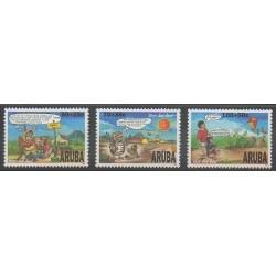 Aruba - 1996 - No 185/187 - Enfance