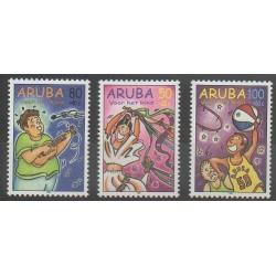 Aruba - 1998 - No 226/228 - Enfance