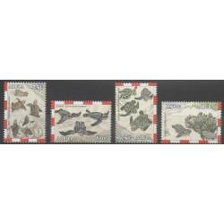 Aruba - 2003 - No 313/316 - Reptiles - Espèces menacées - WWF