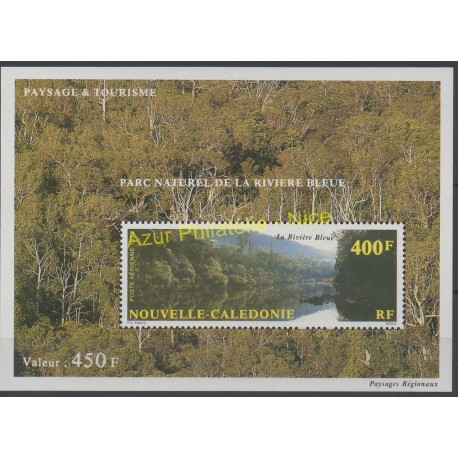 New Caledonia - Blocks and sheets - 1992 - Nb BF 12