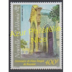 New Caledonia - Airmail - 1993 - Nb PA299 - Monuments